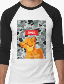 Simba Supreme Men's Baseball ¾ T-Shirt