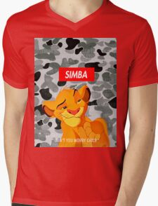 Simba Supreme Mens V-Neck T-Shirt