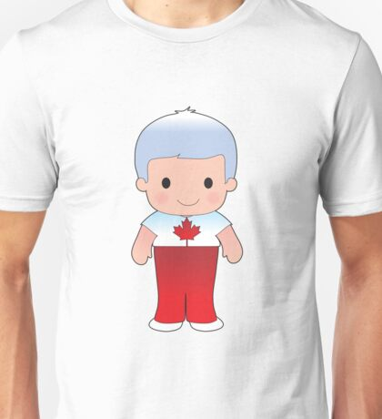 Poppy Canadian Boy Unisex T-Shirt