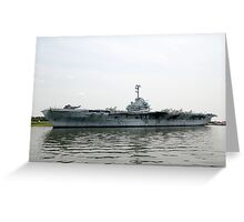 USS Yorktown Greeting Card