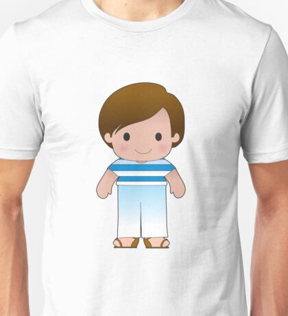Poppy Greek Boy Unisex T-Shirt