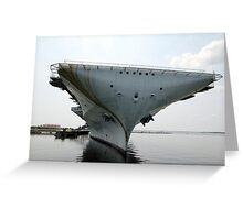 USS Yorktown 2 Greeting Card
