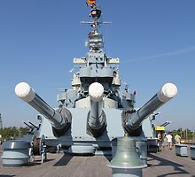 USS North Carolina by reendan