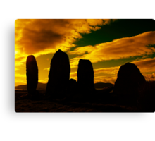 """Temple Of The Ancients"" Ancient Structures of Ireland Canvas Print"