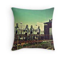 power plant Throw Pillow
