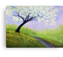 Road To Cobbly Nobb Canvas Print