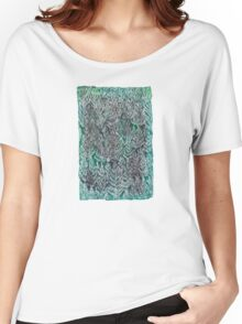 Snow Pines (Dark Green) Women's Relaxed Fit T-Shirt