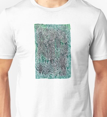 Snow Pines (Dark Green) Unisex T-Shirt