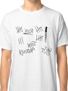 White Shirt Classic T-Shirt