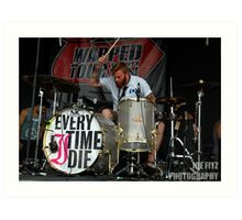 Alan Day of Four Year Strong Art Print