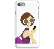 Girl In Sunglasses Iphone Cover iPhone Case/Skin