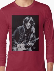 Rory plays the blues Long Sleeve T-Shirt
