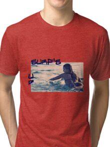 SURFS UP Tri-blend T-Shirt