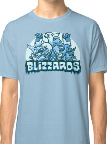 Team Ice Types - Blizzards Classic T-Shirt