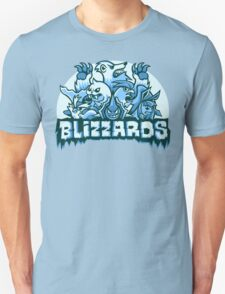 Team Ice Types - Blizzards T-Shirt