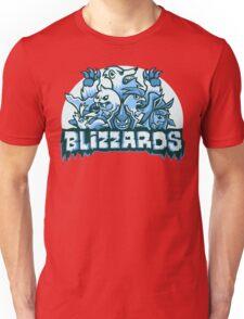 Team Ice Types - Blizzards Unisex T-Shirt