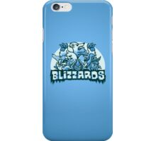 Team Ice Types - Blizzards iPhone Case/Skin