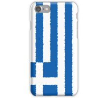 Smartphone Case - Flag of Greece - Vertical Painted iPhone Case/Skin