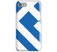 Smartphone Case - Flag of Greece - Diagonal Painted iPhone Case/Skin