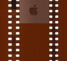 35mm Film Negative w/ Apple Logo by CaptainAussum