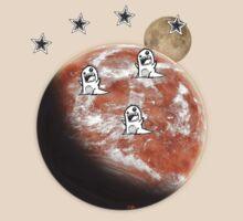 Little monsters on Mars  T-Shirt