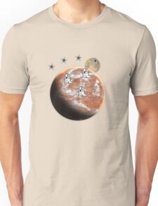Little monsters on Mars  Unisex T-Shirt