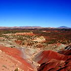 """Red Rock Desert"" Desert Landscapes Utah by aidan  moran"