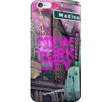 New York City [pink] iPhone Case/Skin