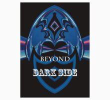 tee 0501 - beyong dark side Kids Tee