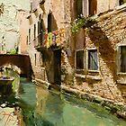 Venetian Solar Street by Oleg Trofimoff