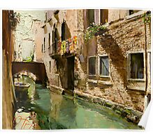 Venetian Solar Street Poster