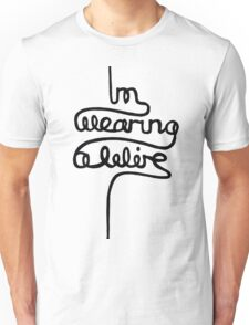wearing a wire Unisex T-Shirt