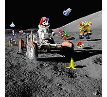 Mario in Space Photographic Print