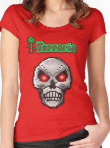 Terraria Skeletron Prime Women's Fitted Scoop T-Shirt