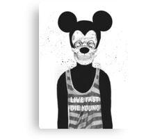 Dead mouse Canvas Print