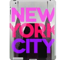 New York City 2 iPad Case/Skin
