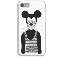 Dead mouse iPhone Case/Skin