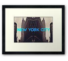 New York City 3 Framed Print
