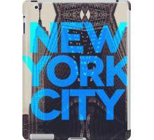 New York City 3 iPad Case/Skin