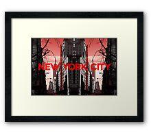 New York City 5 Framed Print