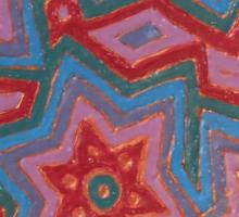 Hexagramic Copper Sticker