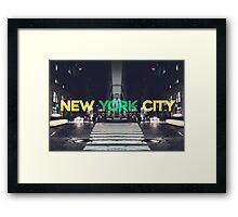 New York City 7 Framed Print