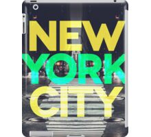 New York City 7 iPad Case/Skin