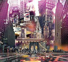 New York City [yellow] by IER STUDIO