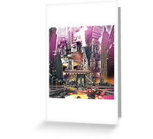 New York City [yellow] Greeting Card