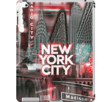 New York City [red] iPad Case/Skin
