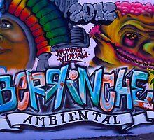 Granada Street Art Nicaragua by Kurt  Van Wagner