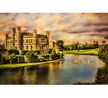 Leeds Castle Landscape Photographic Print