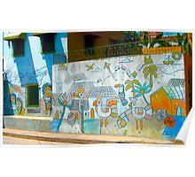 Granada Street Art Nicaragua 2 Poster
