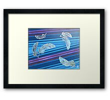 Sterling Plume Framed Print
